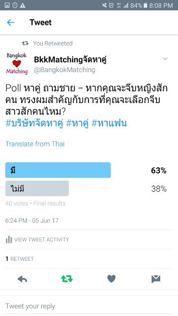 763 Poll บริษัทจัดหาคู่ bangkokmatching.com บริษัทหาคู่ บริการหาคู่ หาคู่ หาแฟนจริงจัง